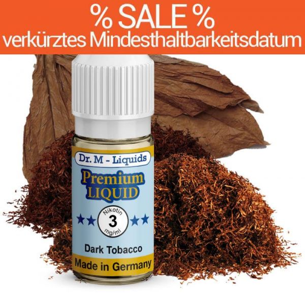 Dr. Multhaupt Dark Tobacco E-Liquid - 3 mg - SALE