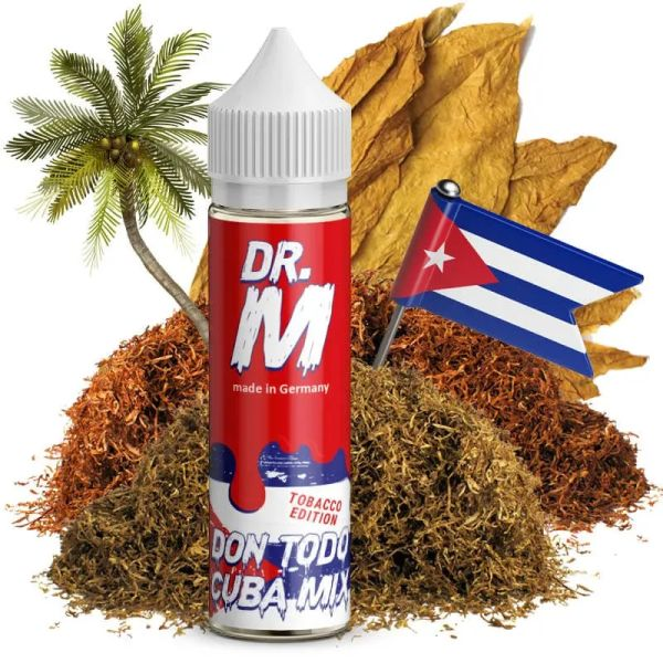 Dr. M - Don Todo Cuba Mix - Longfill - Aromashot