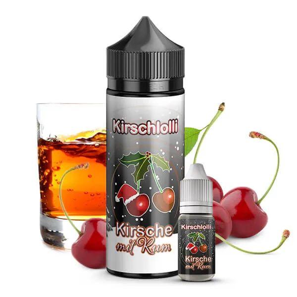 Kirschlolli - Kirschlolli Kirsche mit Rum - Aroma 10 ml