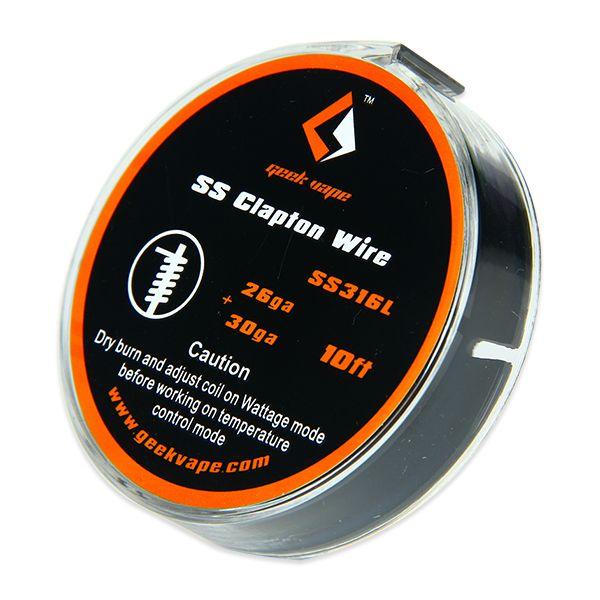 Geek Vape Clapton Wire Ss316l Edelstahl-wickeldraht DX10624 0 Hauptbild
