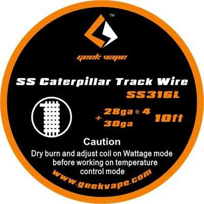 Geek Vape Kanthal SS Caterpillar Track Wire Wickeldraht