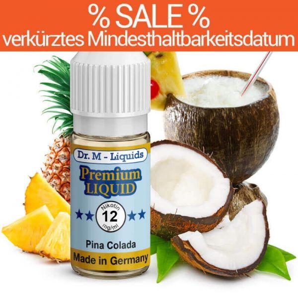 Dr. Multhaupt Pinacolada Premium E-Liquid - 12 mg - SALE