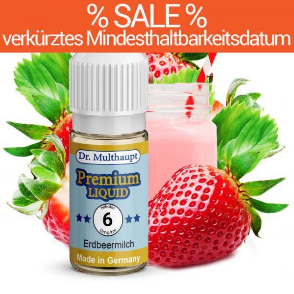 Dr. Multhaupt Erdbeermilch Premium E-Liquid - 6 mg - SALE
