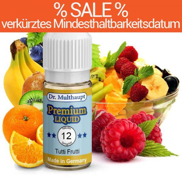 Dr. Multhaupt Tutti Frutti E-Liquid - 12 mg - SALE