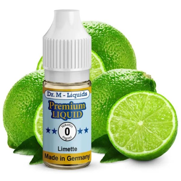 Leckeres Dr. Multhaupt Limette Premium E-Liquid