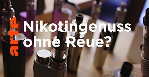 """ARTE - """"Reportage"""" Nikotingenuss ohne Reue - Kritische Meinung von Prof. Bernd Mayer"""