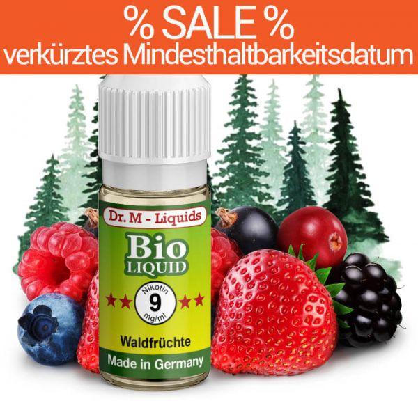 Dr. Multhaupt Waldfrüchte Bio-Liquid - 9 mg - SALE