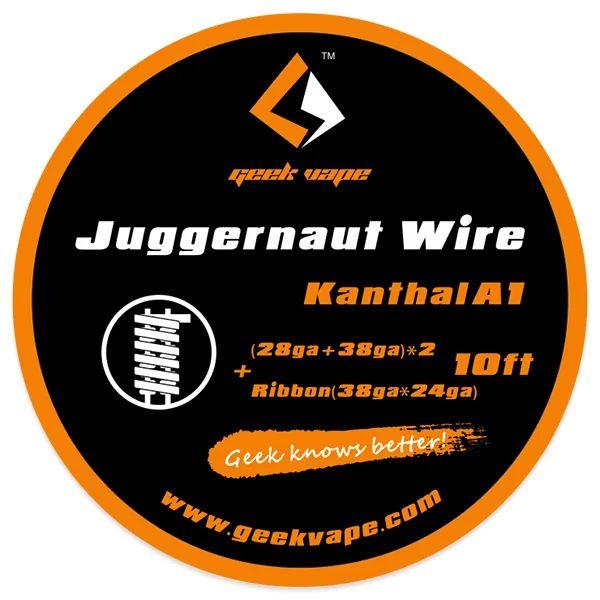 Geek Vape Kanthal A1 Juggernaut Wire Wickeldraht