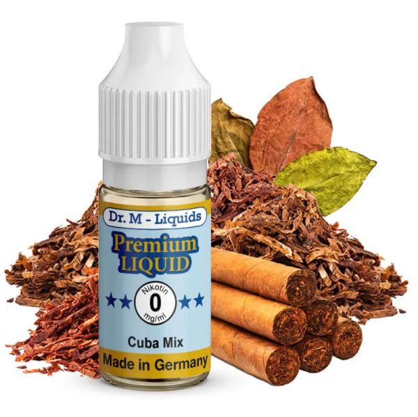 Leckeres Dr. Multhaupt Cuba Mix Tobacco Premium E-Liquid