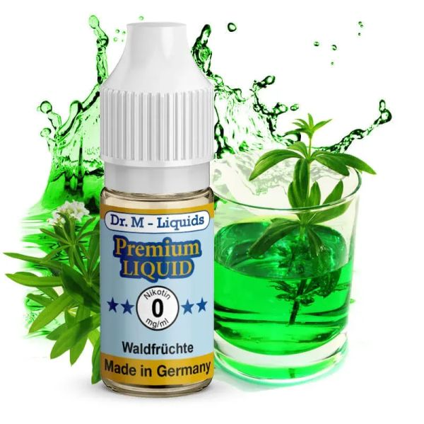 Leckeres Dr. Multhaupt Waldmeister Premium E-Liquid