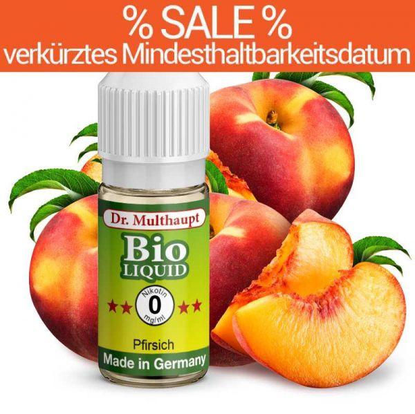 Dr. Multhaupt Pfirsich Bio-Liquid - 0 mg - SALE