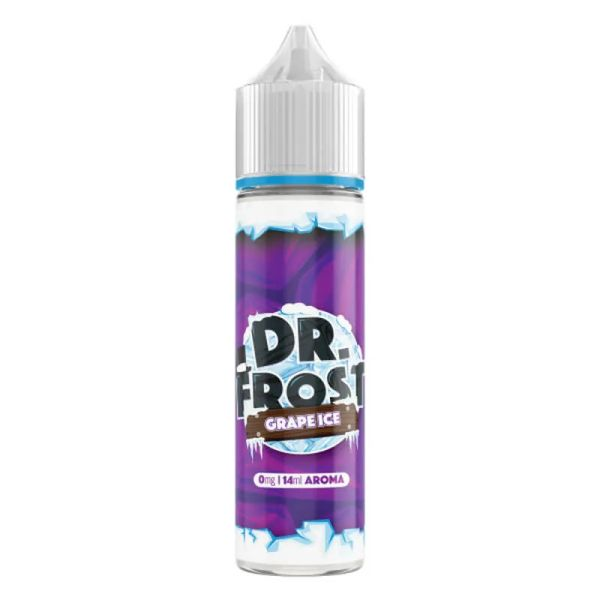 Dr. Frost - Grape Ice - 14 ml in 60 ml Flasche