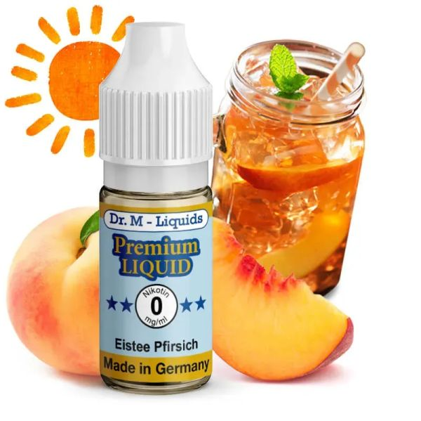 Dr. Multhaupt Eistee Pfirsich Premium E-Liquid