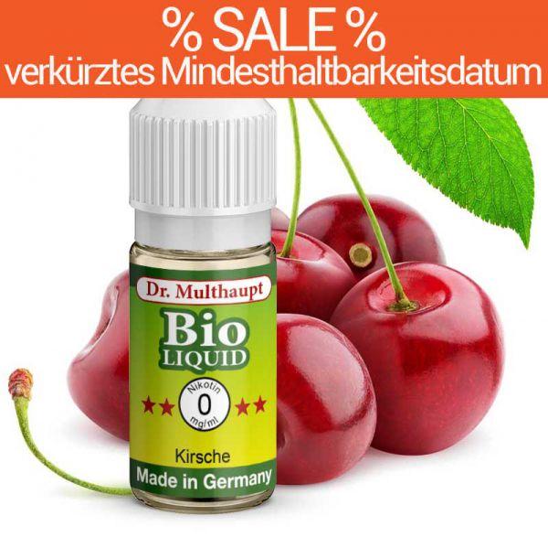 Dr. Multhaupt Kirsche Bio-Liquid - 0 mg - SALE