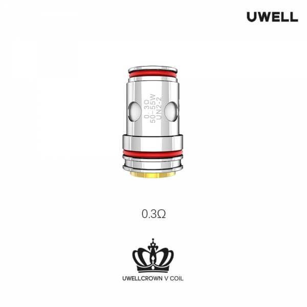 UWELL - Crown 5 - Verdampferkopf - 4 Stk.