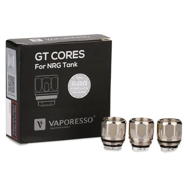 Vaporesso NRG GT Core Verdampferköpfe 3er-Pack