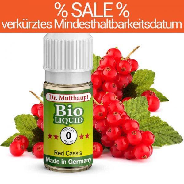 Dr. Multhaupt Red Cassis Bio-Liquid - 0 mg - SALE