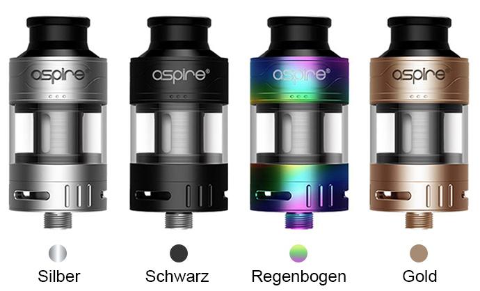 Aspire-Cleito-Pro-Subohm-Tank-3ml_2ml_Farben