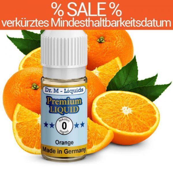 Dr. Multhaupt Orange Premium E-Liquid - 0 mg - SALE