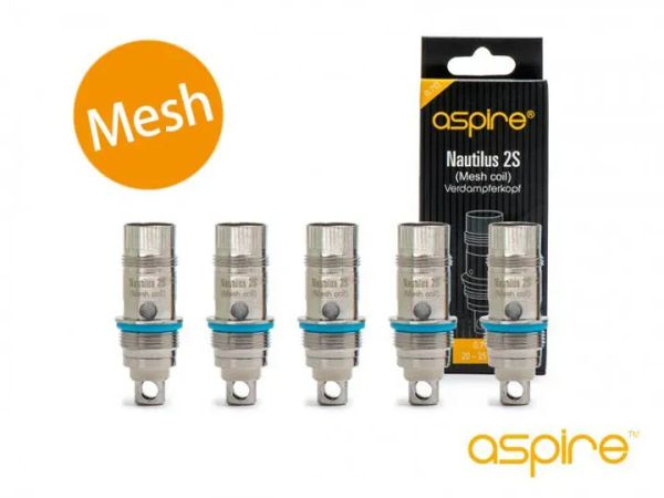 Aspire - BVC Coil Mesh 0,7 Ohm - 5 Stk.