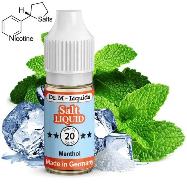 Dr. M - Liquids - Menthol SALT Liquid