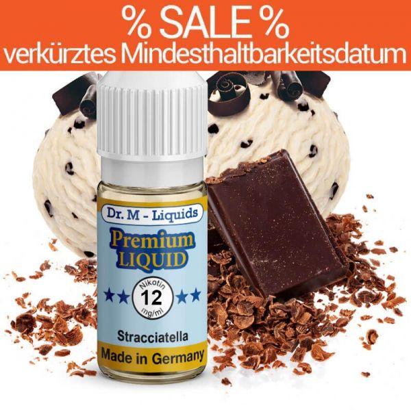 Dr. Multhaupt Stracciatella Premium E-Liquid - 12 mg - SALE
