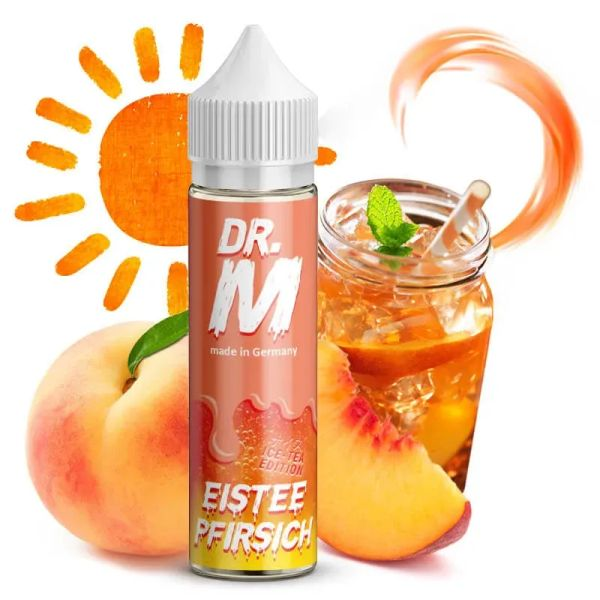 Dr. M - Eistee Pfirsich - Longfill - Aromashot