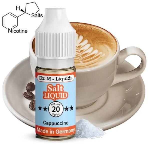 Dr. M - Liquids - Cappuccino SALT Liquid