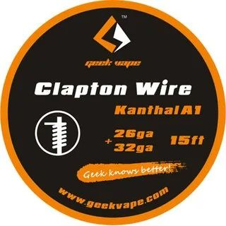 Geek Vape Clapton Draht Kanthal A1 26ga - 32ga DX10373