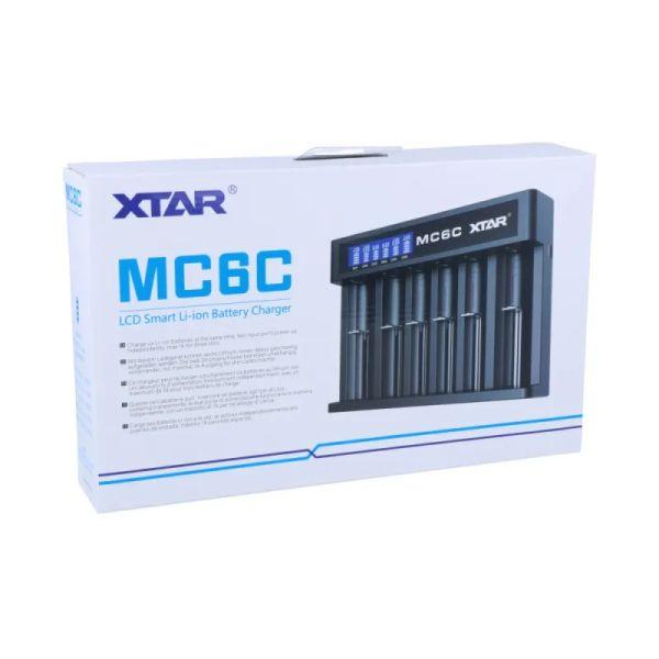 Xtar Queen Ant MC6C Li-Ion USB-Ladegerät mit 6 Schächten und Display