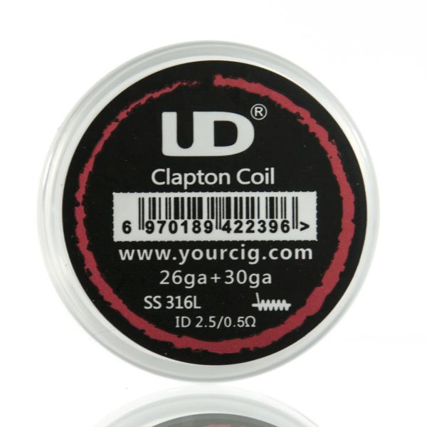 UD SS316L Clapton Coil Fertigwicklungen 10er-Pack