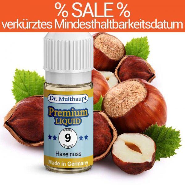 Dr. Multhaupt Haselnuss Premium E-Liquid - 9 mg - SALE