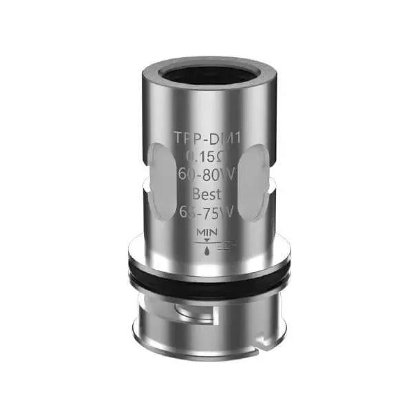 VooPoo - TPP-DM Verdampferkopf 0,15 / 0,2 Ohm - 3 Stk.