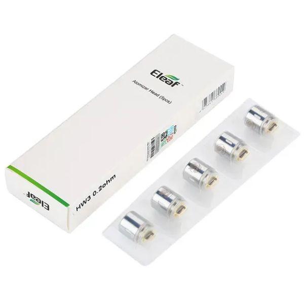 Eleaf HW3 Triple-Cylinder Verdampferköpfe für ELLO Series 5er-Pack