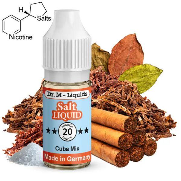 Dr. M - Liquids - Cuba Mix SALT Liquid