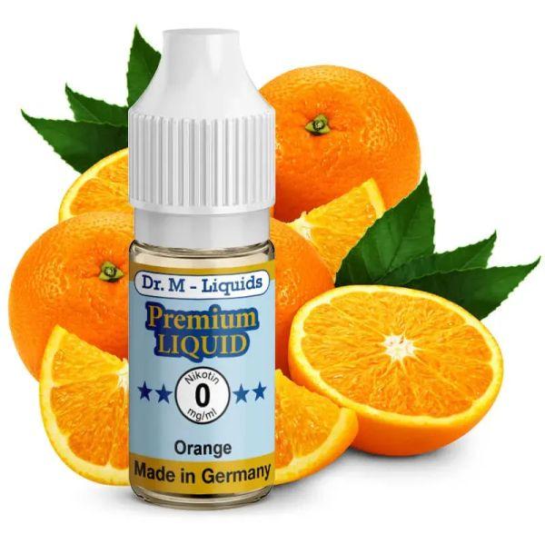 Leckeres Dr. Multhaupt Orange Premium E-Liquid