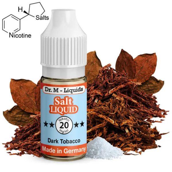 Dr. M - Liquids - Dark Tobacco SALT Liquid