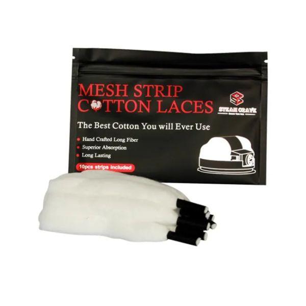 Steam Crave - Mesh Strip Cotton Laces - 10 Stk.