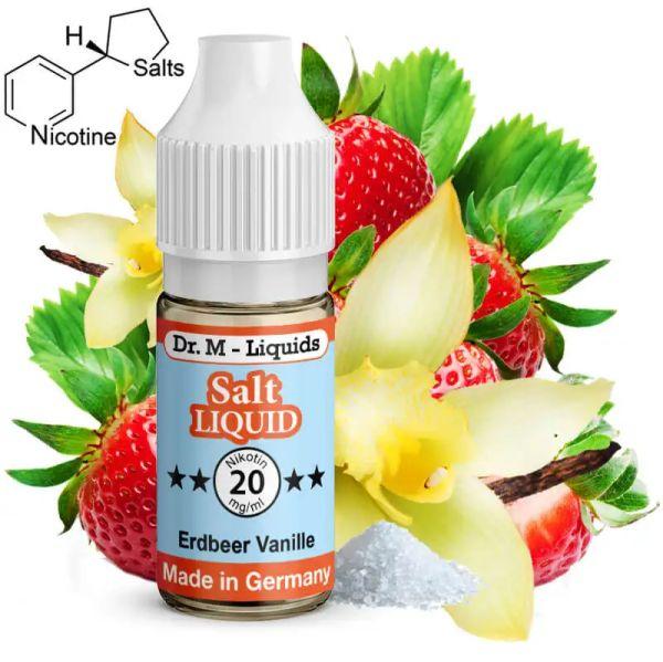 Dr. M - Liquids - Erdbeer / Vanille SALT Liquid